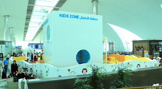 Dubai Airport opens area dedicated to families
