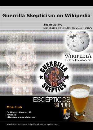 Susan Gerbic en Escépticos en el Pub Madrid