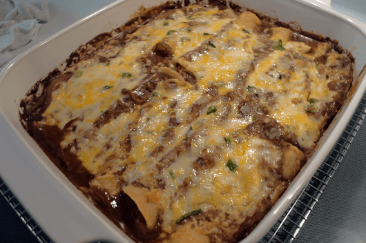 At Mimi's Table: Ultimate Cheese Enchiladas in Mole