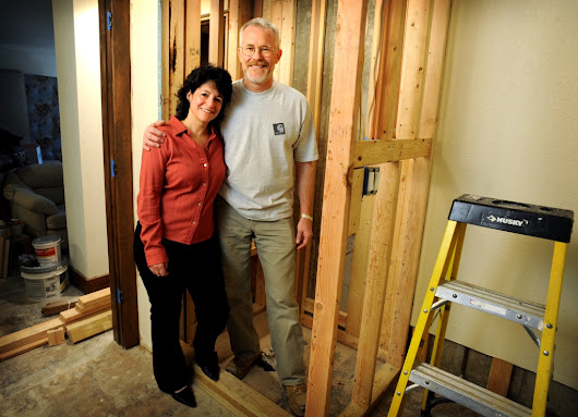 If you build it, they'll stay; boomers remodel their homes