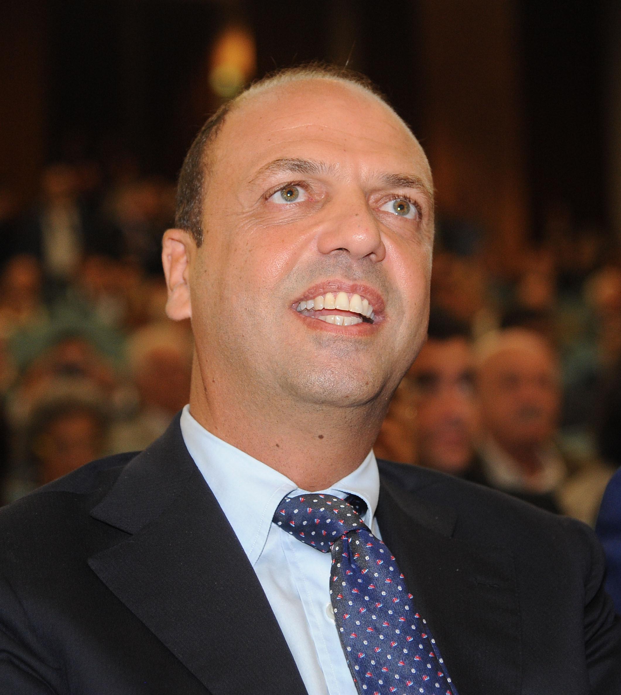 Angelino Alfano    segretario del Pdl