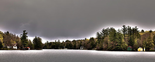 Pond Panorama by David Patterson