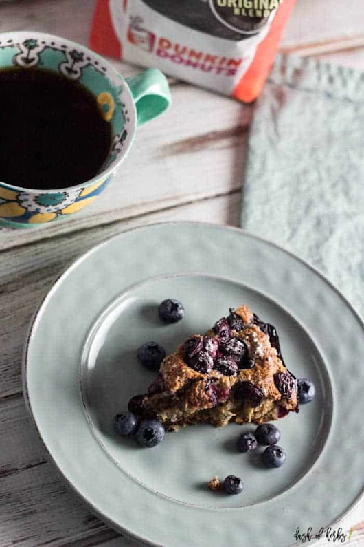 Blueberry Coffee Cake - Dash of Herbs
