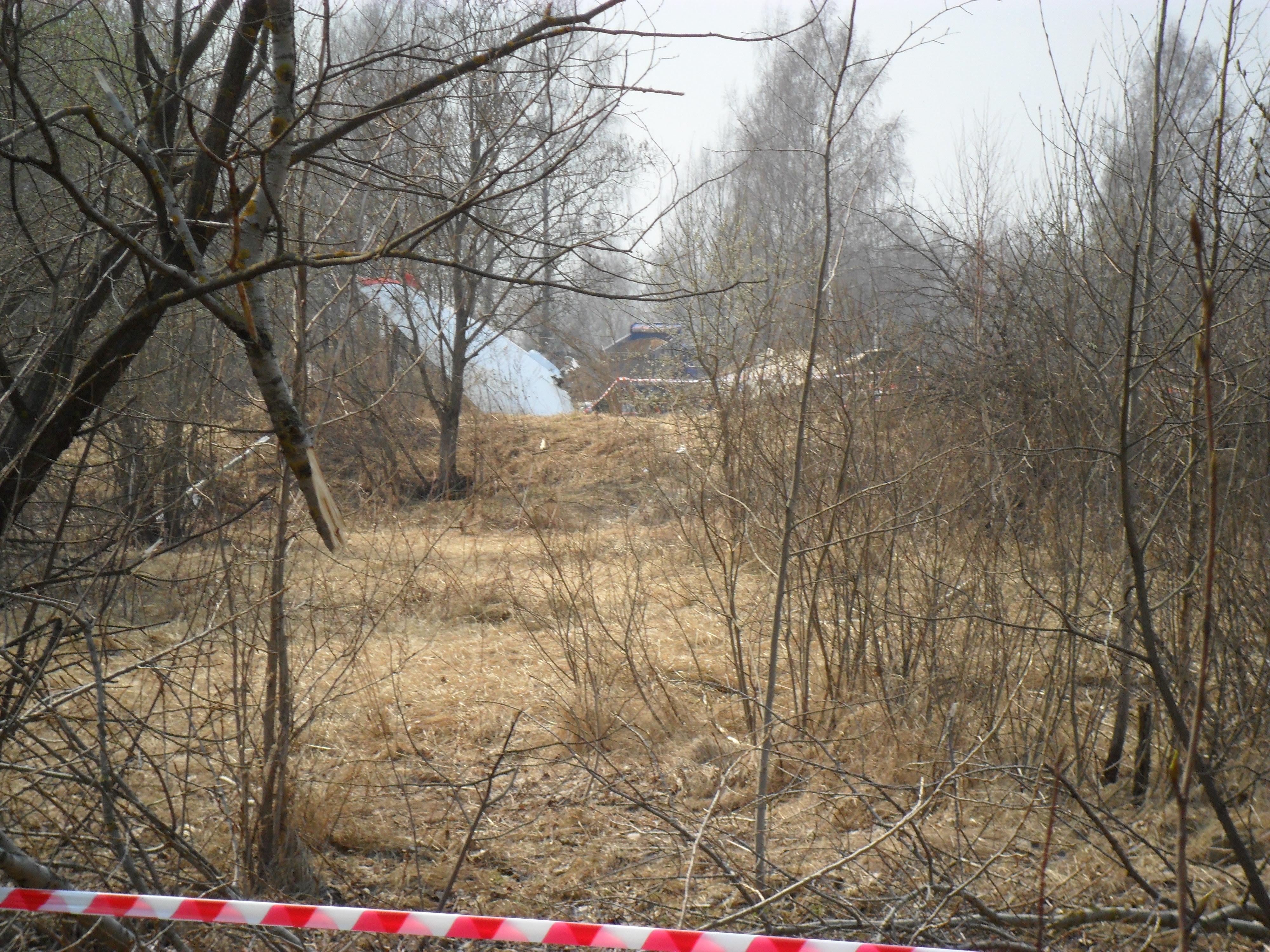 2010 Polish Air Force Tu-154 crash site