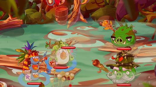 Rovio Launches Angry Birds Epic, a Turn Based RPG on Android - AndroidShock
