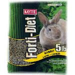 Kaytee 100032202 Forti-diet Rabbit Food, 5 Lb