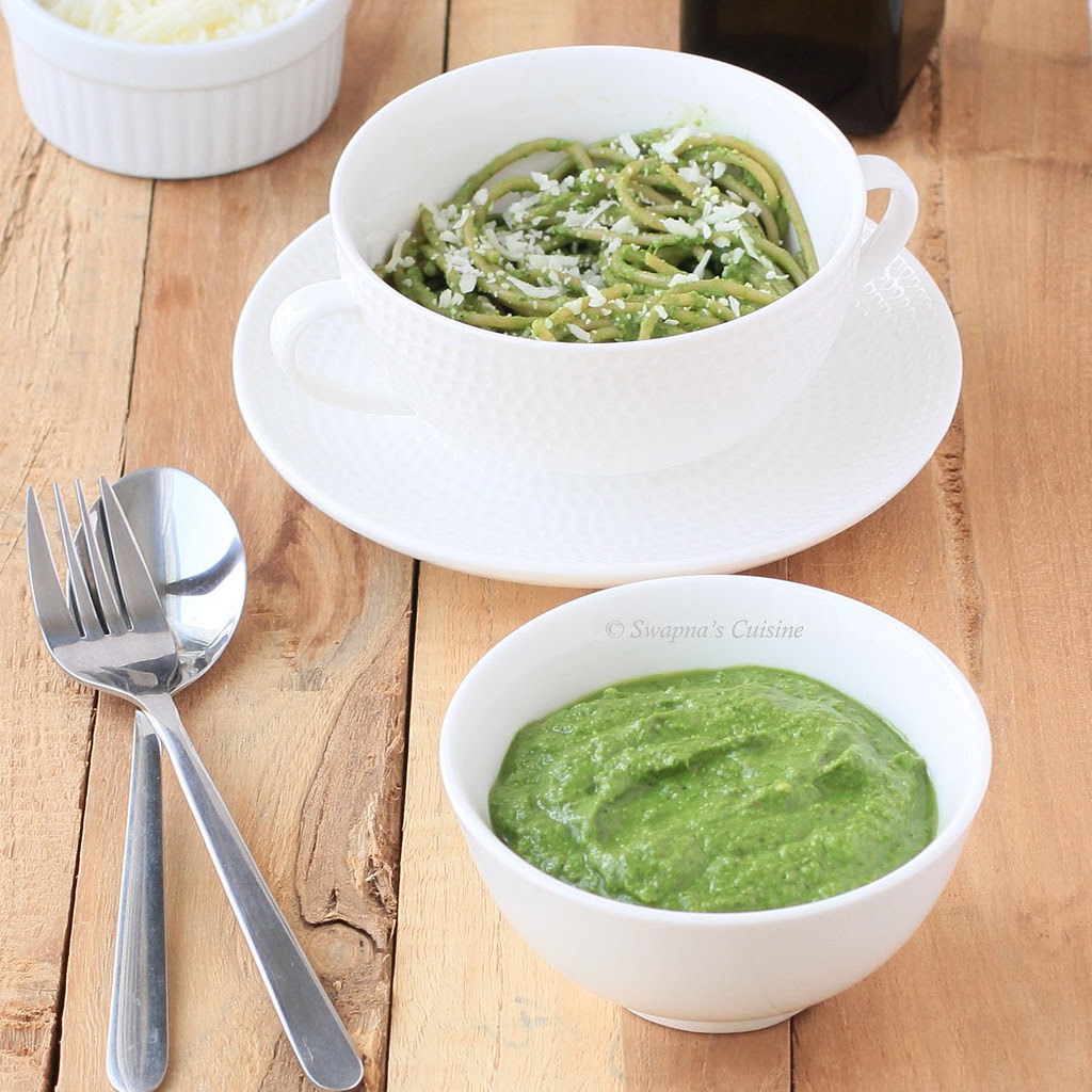 How to make Pesto Sauce at home