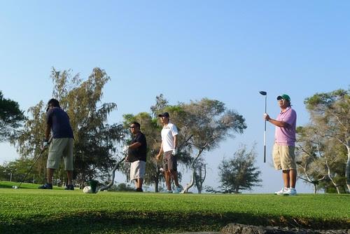 Hawaii 2010/Waikoloa Golf/Hit it there!