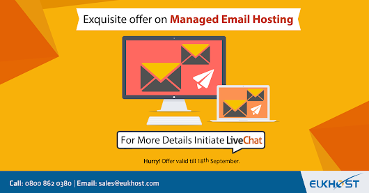 Exquisite offer on eUKhost Managed Email Hosting - eUKhost Official Web Hosting Forum