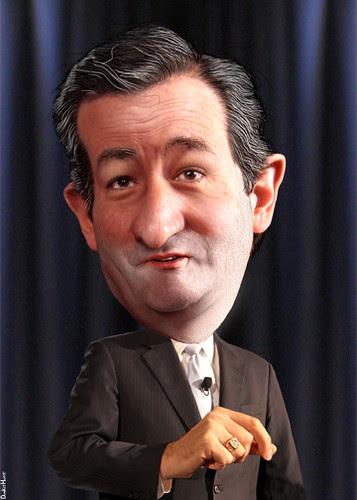 Ted Cruz - Caricature