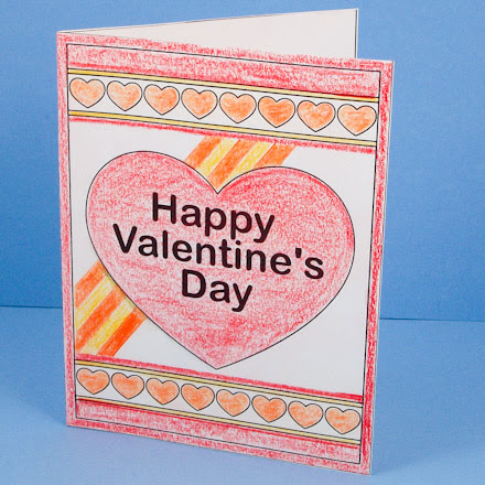 How To Make A Heart Pop Up Card Valentines Day Crafts Aunt