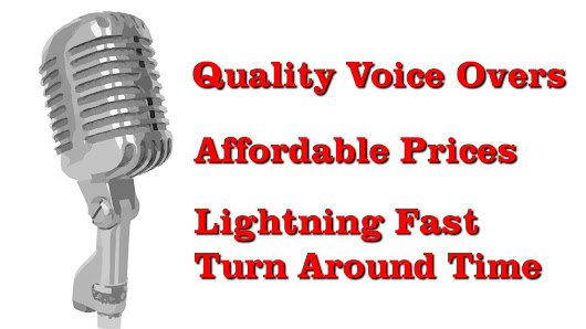 Affordable Voice Over with Lightning Fast Turn Around Time