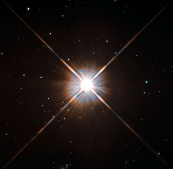 A Hubble Space Telescope image of Proxima Centauri, the closest star to Earth. Credit: ESA/Hubble & NASA