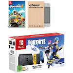 Nintendo Switch Fortnite Wildcat Edition and Game Bundle: Limited Console Set, Pre-Installed Fortnite, Epic Wildcat Outfits, 2000 V-Bucks, Overcooked