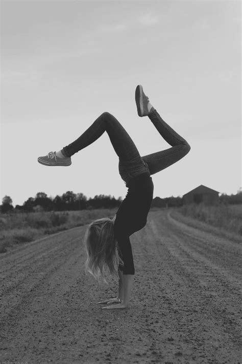 handstand. | Workout videos free, Gymnastics, Yoga