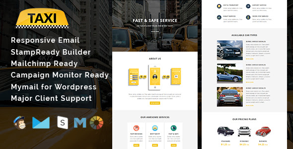Car Services - Responsive Email Template - 1