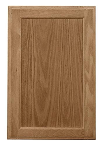 "Pace 16"" W x 13"" H Oak Recessed Panel Cabinet Door at Menards®"