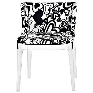 Mademoiselle Chair Moschino Hearts by Kartell