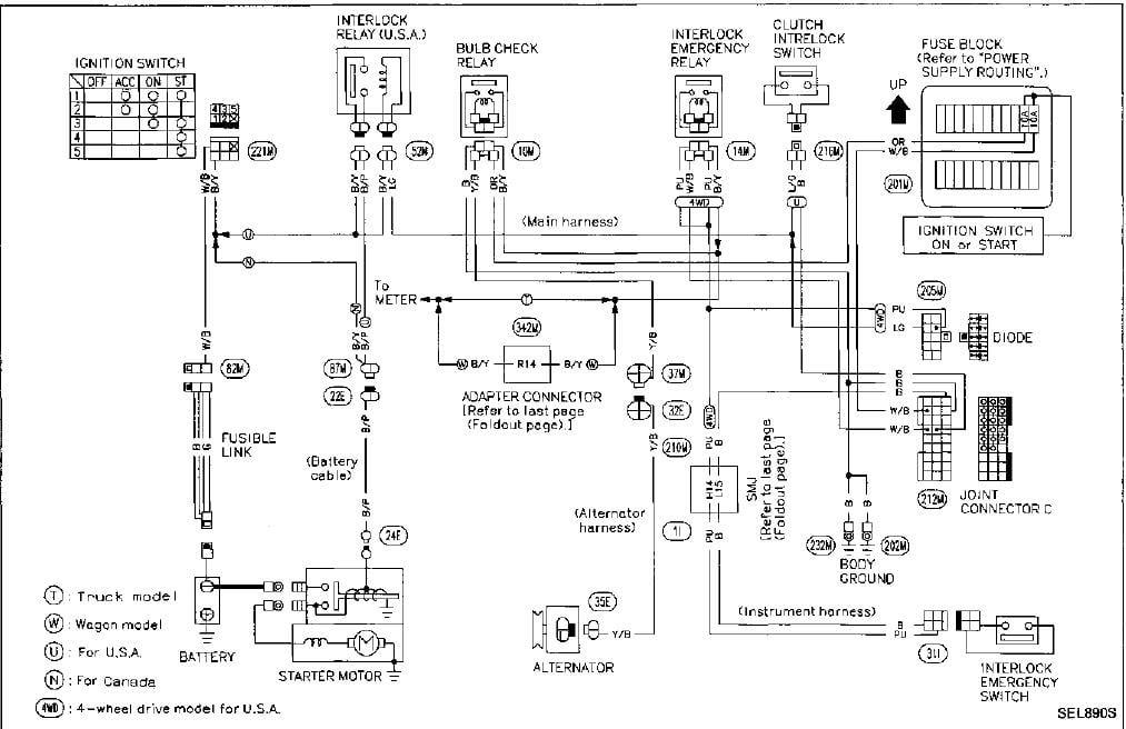 1995 Nissan Pathfinder Radio Wiring Diagram Wiring Diagram Reference A Reference A Reteimpresesabina It