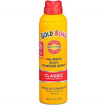 Gold Bond No Mess Powder Spray, Classic Scent with Menthol - 7 oz can