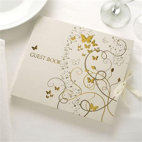 Elegant Butterfly Wedding Guest Book   Confetti.co.uk