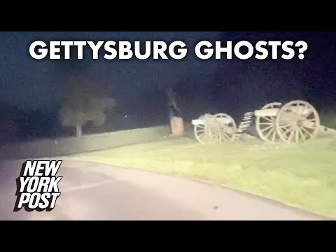 [VIDEO] Ghosts Or Optical Illusion Caught On Camera In Gettysburg?