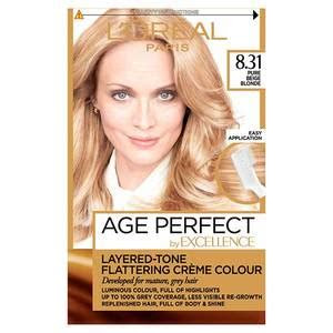 excellence age perfect  pure beige blonde hair dye superdrug