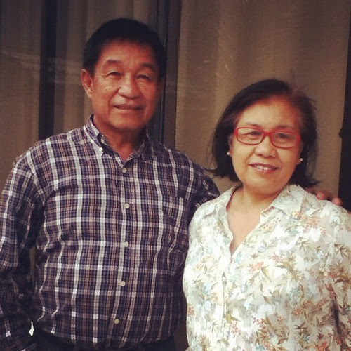 Happy Valentine's Day, Tatay and Nanay!