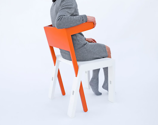 SUPERBAMBI: A Chair with Many Functions - Design Milk