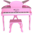 Schoenhut 61 Key Digital Butterfly Piano Pink