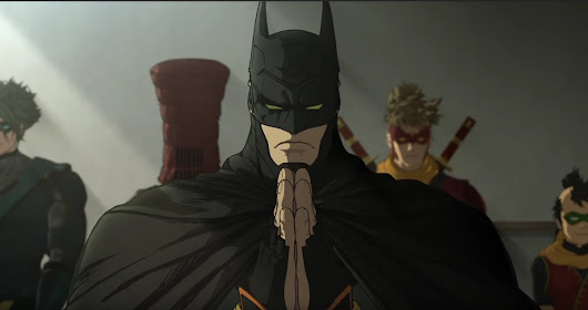 Batman Ninja holiday viewing - Paul Jacobson