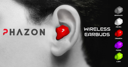 CLICK HERE to support Phazon : Wireless Earbuds Guaranteed Not to Fall