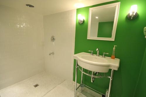 Basement Bathroom - July 2011