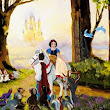 Line Tutwiler Farewell to the Forest From Dinsey Movie Snow White  Giclee On Canvas