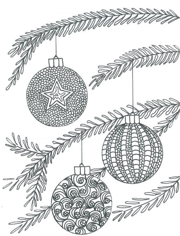 970 Christmas Coloring Pages For Elementary Students Pictures