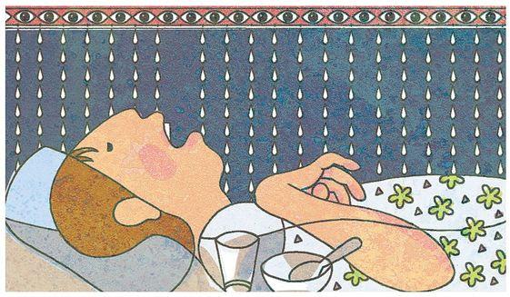 Illustration on the death of Terri Schiavo by Alexander Hunter/The Washington Times