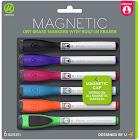 U Markers, Magnetic, Medium - 6 markers
