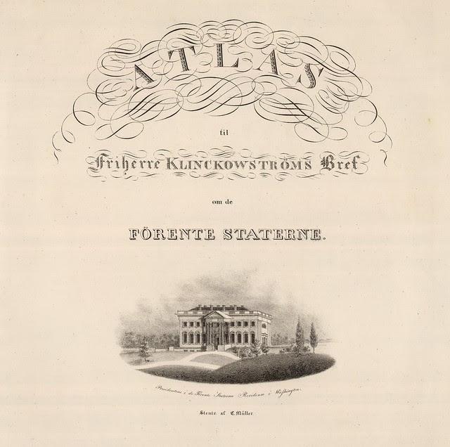 Atlas til Friherre Klinckowstroms 1824
