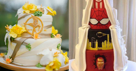 25 Gorgeous Yet Geeky Wedding Cakes For Your Special Day