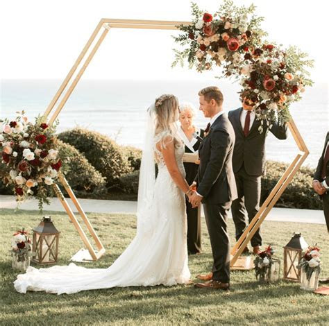 Hexagon Arch   Wedding & Party Rentals and Sales in San