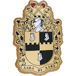 """Alpha Phi Alpha Domed Wood Shield Wall Plaque [Brown - 7.75"""" x 11.5"""" x 0.75""""]"""