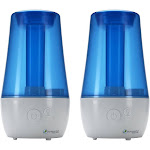 PureGuardian H965AR 70-Hour Ultrasonic Cool Mist Humidifier, 1 Gal - 2 pack