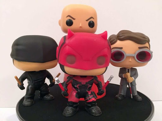 Nested Universe: Netflix Daredevil Pop! Figures Review