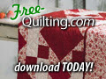 Free bed quilt pattern -- download today!