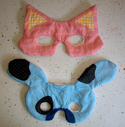 Cat and Dog Masks