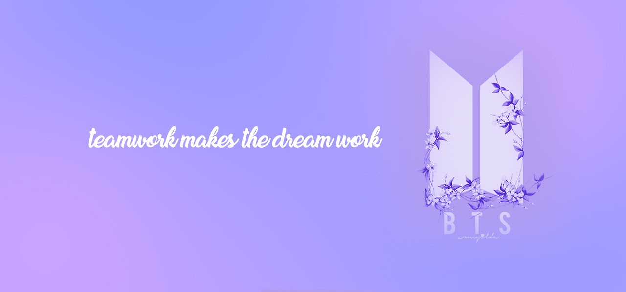 Bts New Logo Desktop Wallpaper
