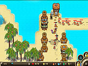 Jogar Castaway island tower defense Jogos