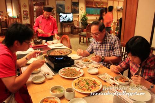Bee Won Korean Restaurant dinner