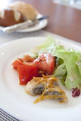 Seasonal Salad, The Grill, ANA Intercontinental Manza Beach Resort