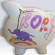 All Places You Will Go Dr Seus Piggy Bank - NanyCrafts
